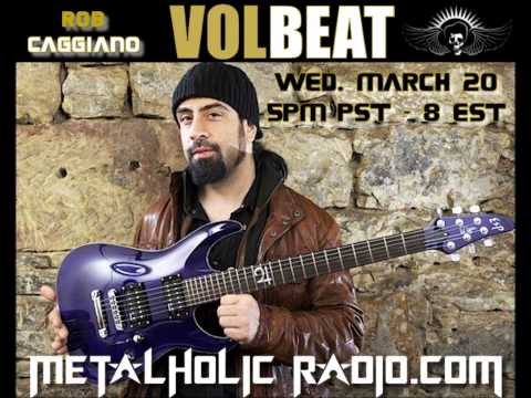 Interview with Rob Caggiano of Volbeat, March 17, 2013