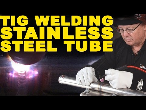 TIG Welding Stainless Steel Tubing   TIG Time
