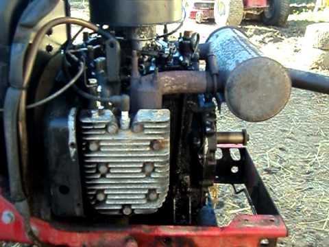 Cub Cadet 782 Engine Kohler Youtube