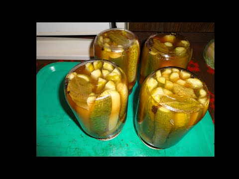Огурцы маринованные с кетчупом видео рецепт