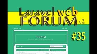 Tutorial Laravel Web Forum - #35 ( CRUD for Tags  )