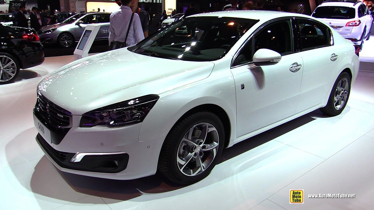 2015 peugeot 508 hybrid4 2 0l hdi exterior and interior walkaround 2014 paris auto show. Black Bedroom Furniture Sets. Home Design Ideas