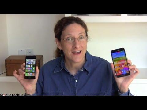 Samsung Galaxy S5 vs. Apple iPhone 5s Comparison Smackdown