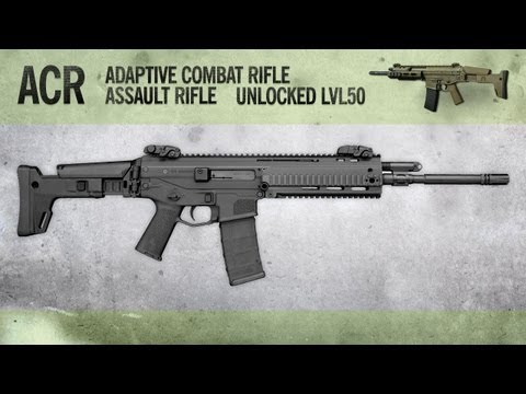 ACR : MW3 Weapon Guide. Gameplay & Gun Review