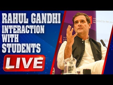 Rahul Gandhi LIVE | AICC Rahul Gandhi Interaction with Students | Hyderabad | ABN LIVE