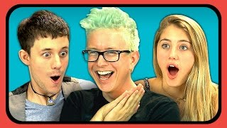 YOUTUBERS REACT TO SELFIES