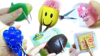 Cut Open Different Type Of Squishy & Squeeze Toy Compilation