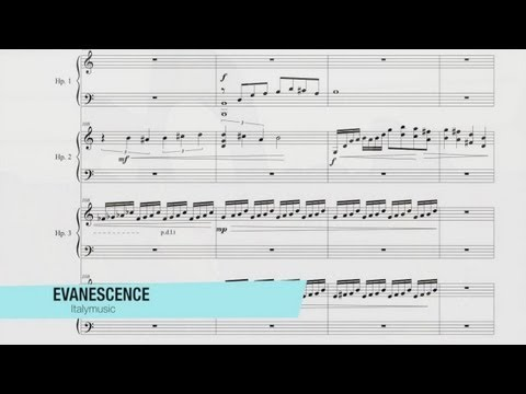 "Vincenzo Sorrentino ""Evanescence"" – Harp Quartet, Contemporary Music"