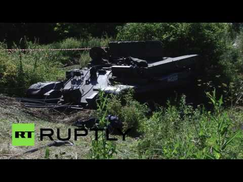 Don River Find: WW2-era T-34 recovered in Russia
