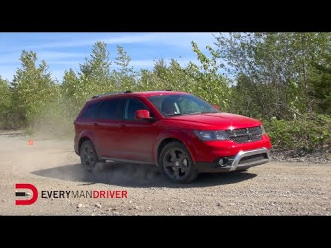 Dodge Journey Crossroad >> 2014 Dodge Journey Crossroad AWD Off-Road Test Drive on ...
