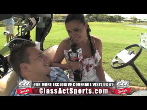 Rob Gronkowski Exclusive Interview w/ Joy Taylor of Class Act Sports thumbnail