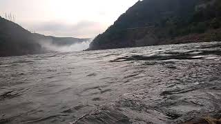 Srisailam damlwater ride_enjoyed_lot fun Masti...