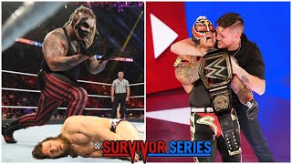 WWE Survivor Series 2019 Highlights - Rey Mysterio New WWE Champion ? Brock Vs Rey 2019