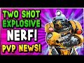 Fallout 76 HUGE NEWS Legendary Two Shot Explosive NERF PVP Servers Game Mode Player Bans mp3