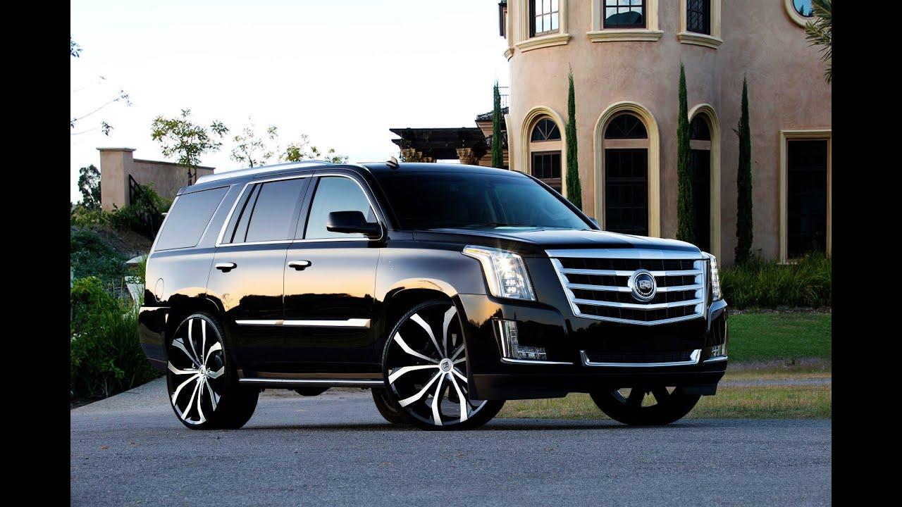 2015 Cadillac Escalade on Lexani Wheels   YouTube