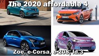 """The Affordable 4"" Id.3 Zoe e208 eCorsa"
