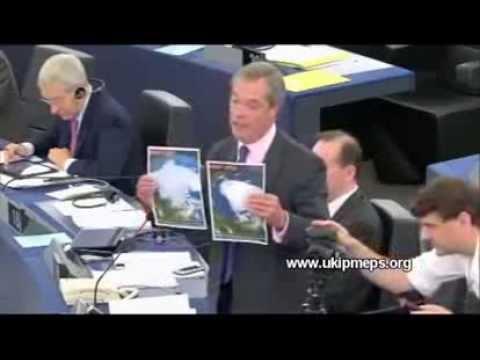 Nigel Farage konfrontiert José Manuel Barroso mit dem Klimawandel  ( 11.09. 2013 )