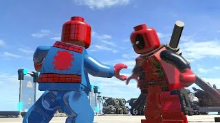 LEGO DEADPOOL VS SPIDERMAN (Battle) - LEGO Marvel Super heroes