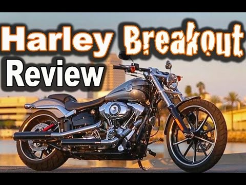 2015 Harley Davidson Breakout Ride and Review  - First Time Riding a Harley
