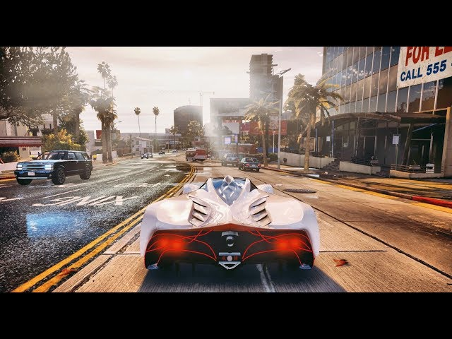 GTA 6 Graphics 2018 Cars Gameplay! Ultra Realistic Graphic ENB MOD PC - 60 FPS - 1080p