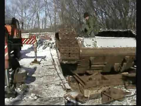 танк т34 Отважный.wmv