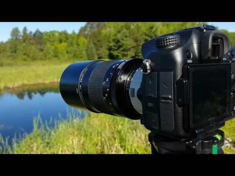 Tamron 500mm F8 Reflex Adaptall REVIEW