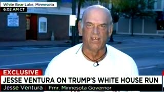 Jesse Ventura Says He Would Consider Running With Donald Trump Or Bernie Sanders