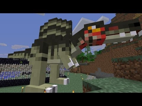 Minecraft Dinosaurs - Part 92- New Species of Giant Carnivore found in Utah!