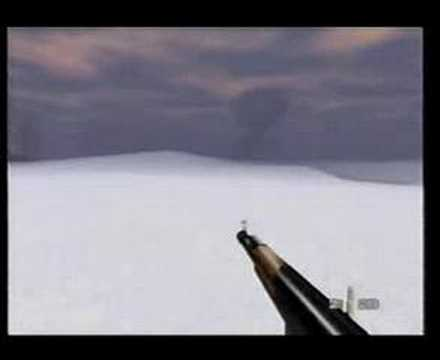 GoldenEye 007 (N64) Mission 2: Part i: Surface
