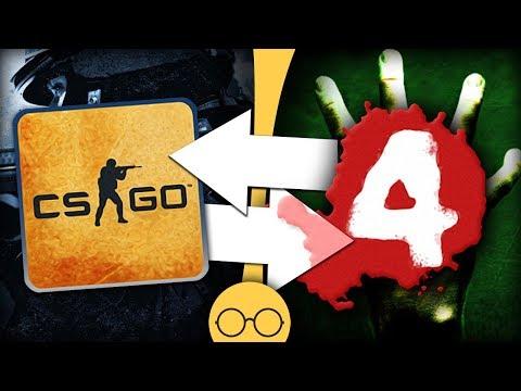 Связь CS:GO и Left 4 Dead - Скрытый сюжет CS:GO