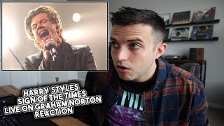 Harry Styles - Sign Of The Times Live REACTION - WHOAHHHH