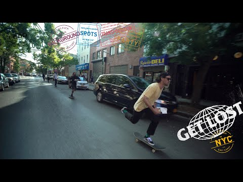 Skate, Eat, Party & More  |  GET LOST: New York City