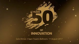 Gala Dinner highlights | 50 Years of Innovation Gala Dinner