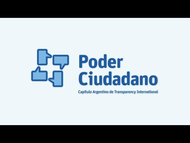 Spot Institucional Poder Ciudadano