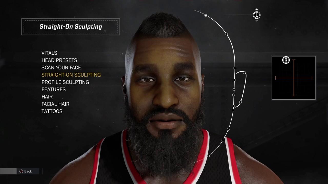 James harden beard evolution