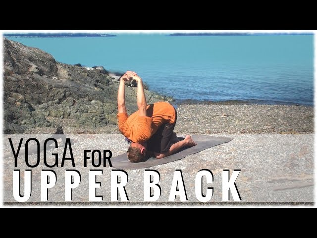 Yoga for the Upper Back with David Procyshyn, founder of DoYogaWithMe.com