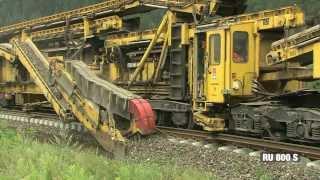 Cómo se construyen hoy en día las vías férreas
