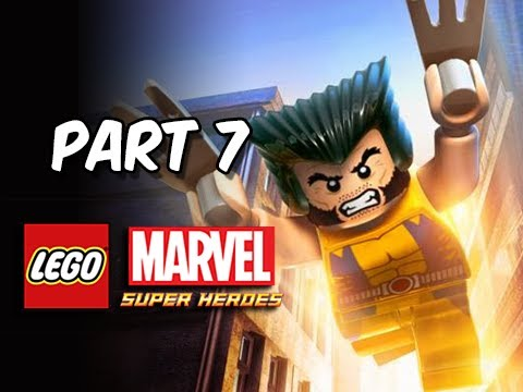 LEGO Marvel Super Heroes Gameplay Walkthrough - Part 7 WOLVERINE Ryker's Island Let's Play