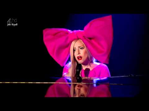 Lady Gaga - Marry The Night - Live At Alan Carr Chatty Man - Acoustic Version HIFI HD - 2011 Music Videos