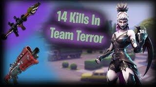 14 Kill Game in Team Terror | High Kill Funny Game | Stream Highlight - (Fortnite Battle Royale)