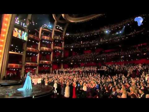 Lupita Nyong'o wins Oscar award