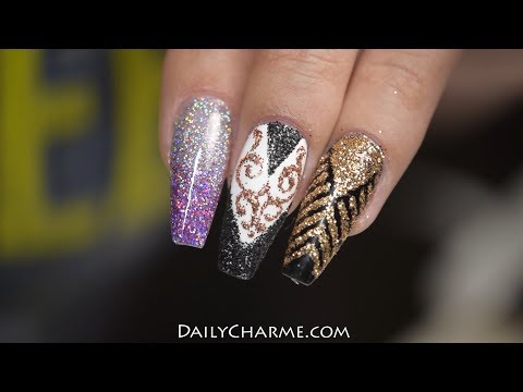 Different Ways to Use Glitter from Daily Charme | April Ryan | Red Iguana