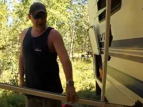 How to close a Carefree RV Awning