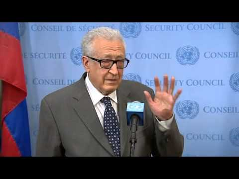 Top UN Envoy to Syria Lakhdar Brahimi Resigns