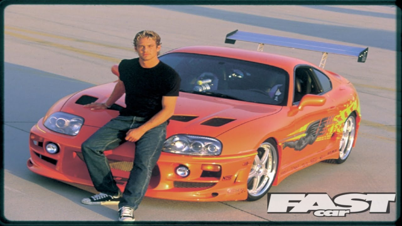 Supra Vs Charger >> SLRR: The Fast and The Furious Paul Walker Tribute - Toyota Supra Remake - YouTube
