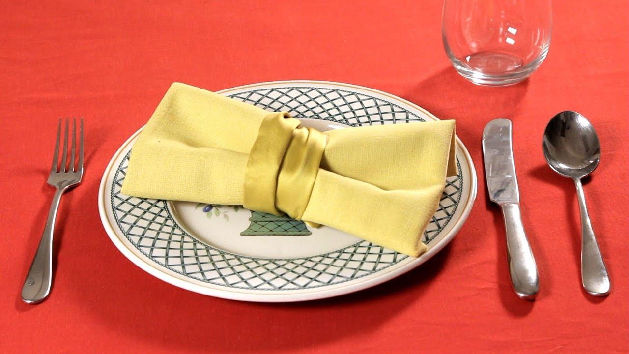 Как красиво сложить салфетки на праздничный стол 12 простых пошаговых 64