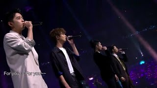 F4 - FOR YOU (LIVE PERFORMANCE)