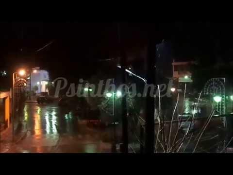 Βροχερός καιρός, καταιγίδα - Ψίνθος
