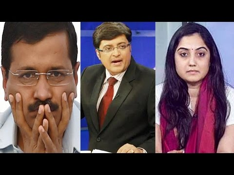BJP's Spokesperson THRASHES Arvind Kejriwal in Newshour Debate