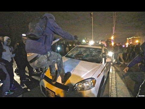 Ferguson Looting Riots Grand jury NO Indictment Darren Wilson NOT GUILTY - Michael Brown St. Louis!!